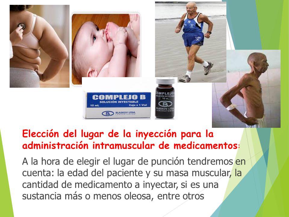 VIA INTRAMUSCULAR Es la inyección aplicada en el tejido muscular ...