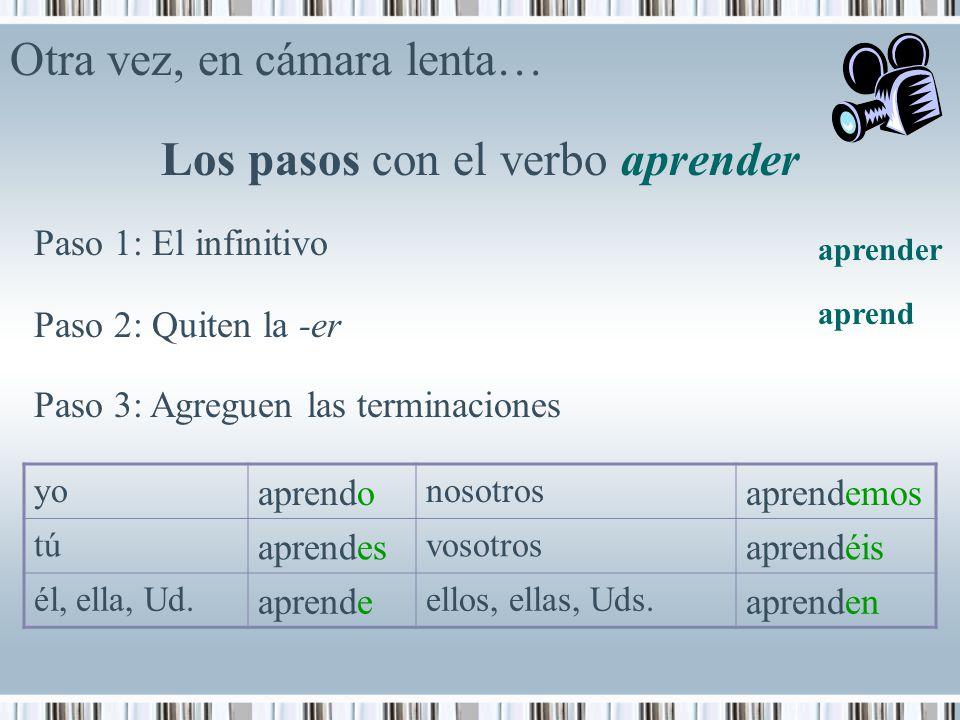 El verbo Los verbos se expresan de acuerdo con el… - ppt descargar