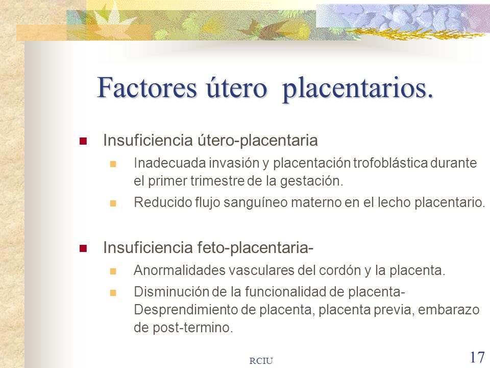 diabetes tipo insuficiencia uteroplacentaria