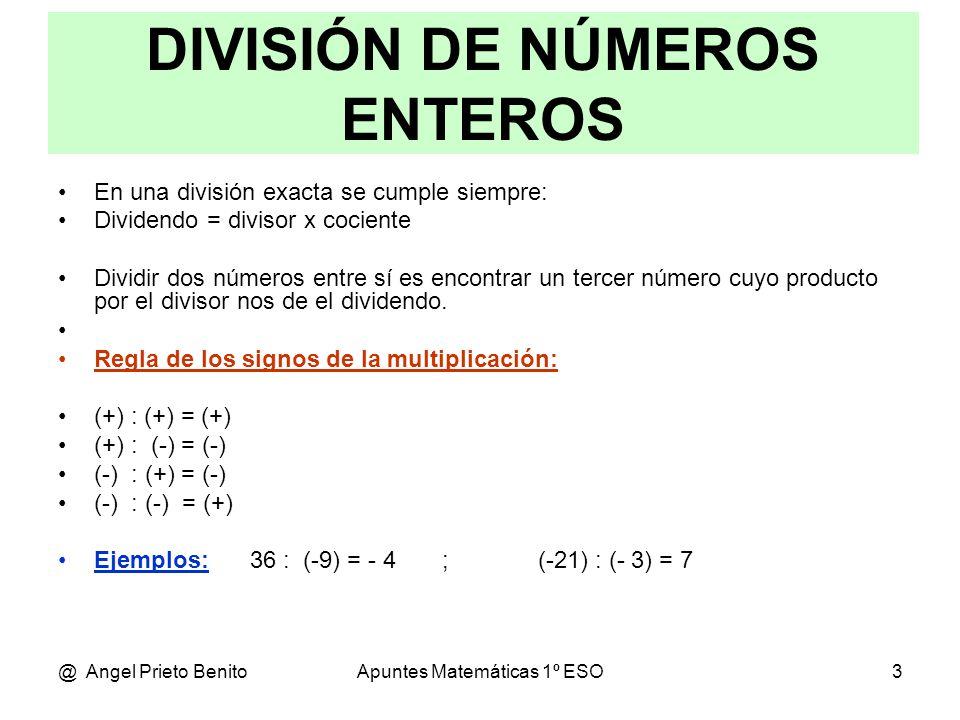 Multiplicación Y División De Números Enteros Ppt Video Online Descargar