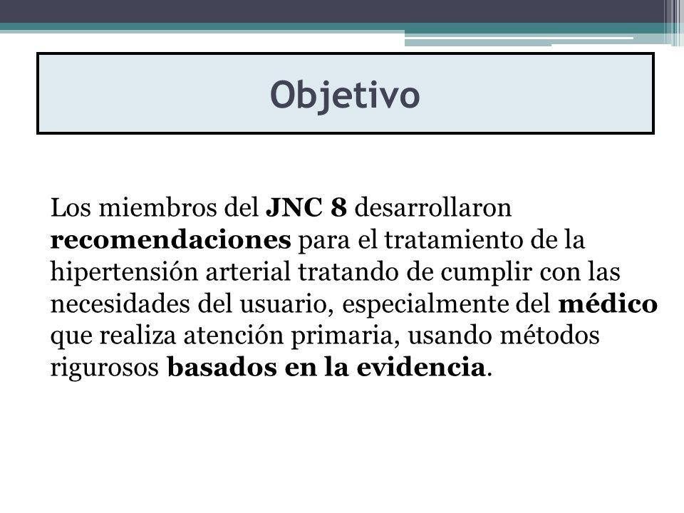 8 definición de hipertensión jnc