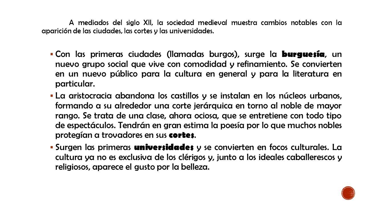 LITERATURA MEDIEVAL MARCO HISTÓRICO. - ppt descargar