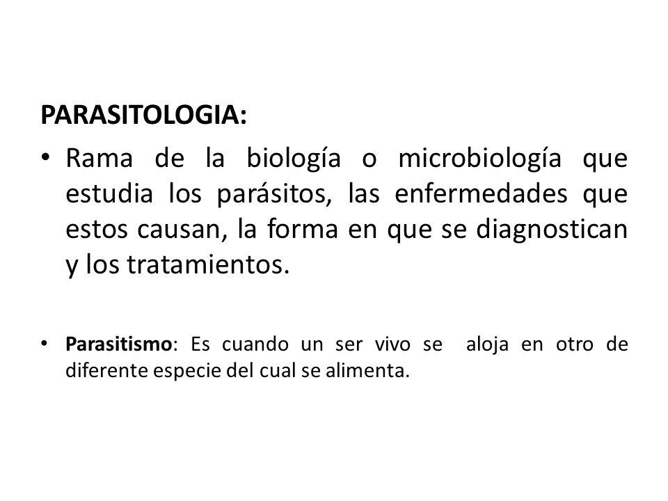 que es parasitologia
