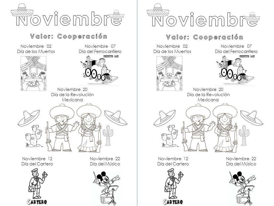 Noviembre Noviembre Valor Cooperación Valor Cooperación Ppt