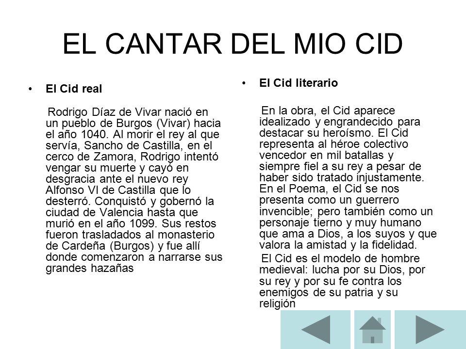 El Mio Cid Ppt Descargar