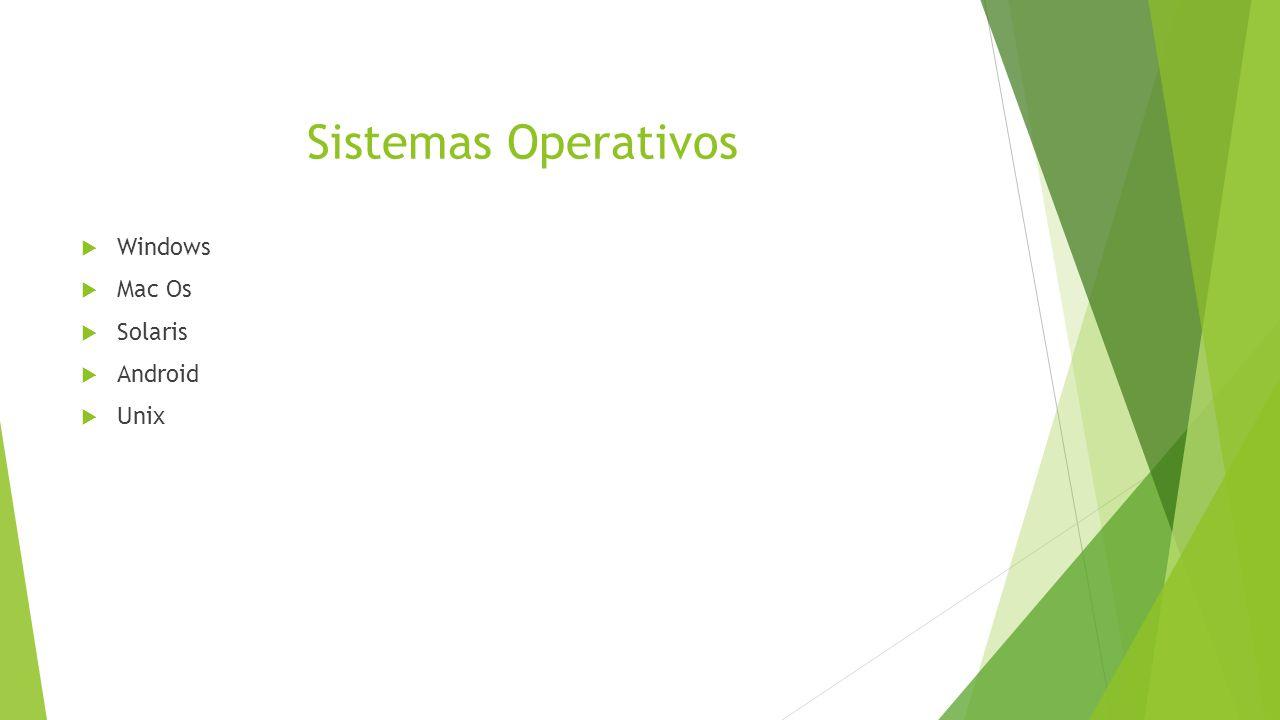a0b82767dd2 Sistemas Operativos Windows Mac Os Solaris Android Unix. - ppt descargar