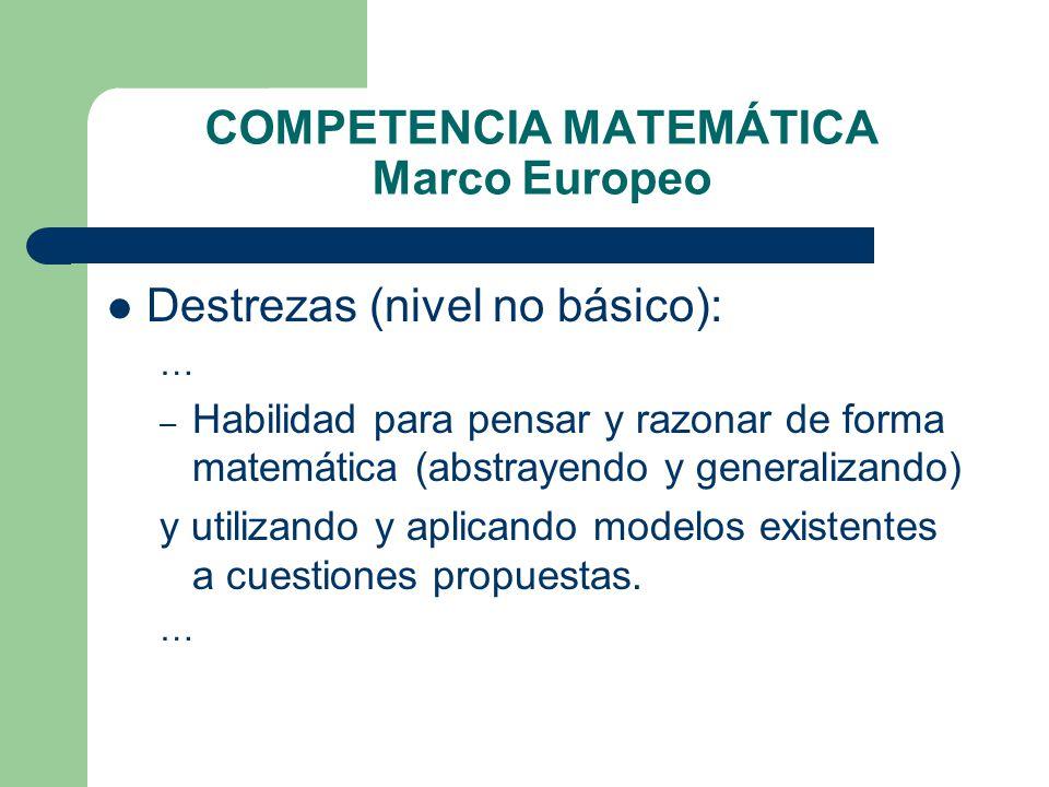 COMPETENCIAS CLAVE (Marco Europeo) - ppt descargar