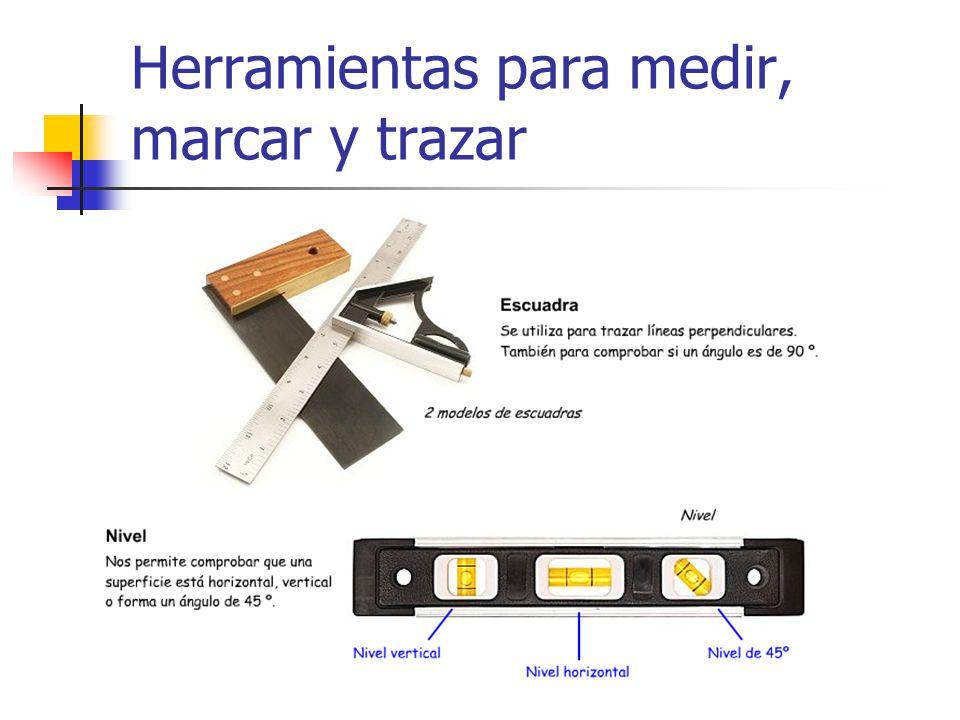 herramientas herramientas para medir marcar y trazar ppt descargar