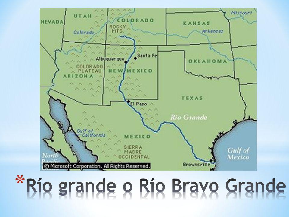 Rio Bravo Mapa Fisico.Que Vimos La Clase Pasada Ppt Video Online Descargar
