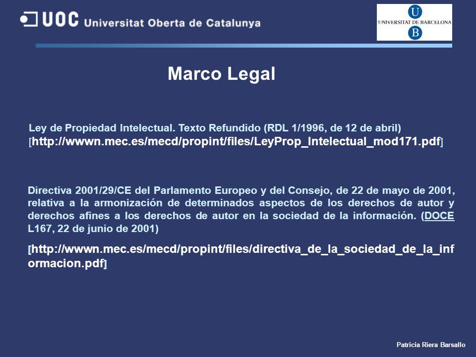 Introducción al derecho de autor y su repercusión en bibliotecas ...