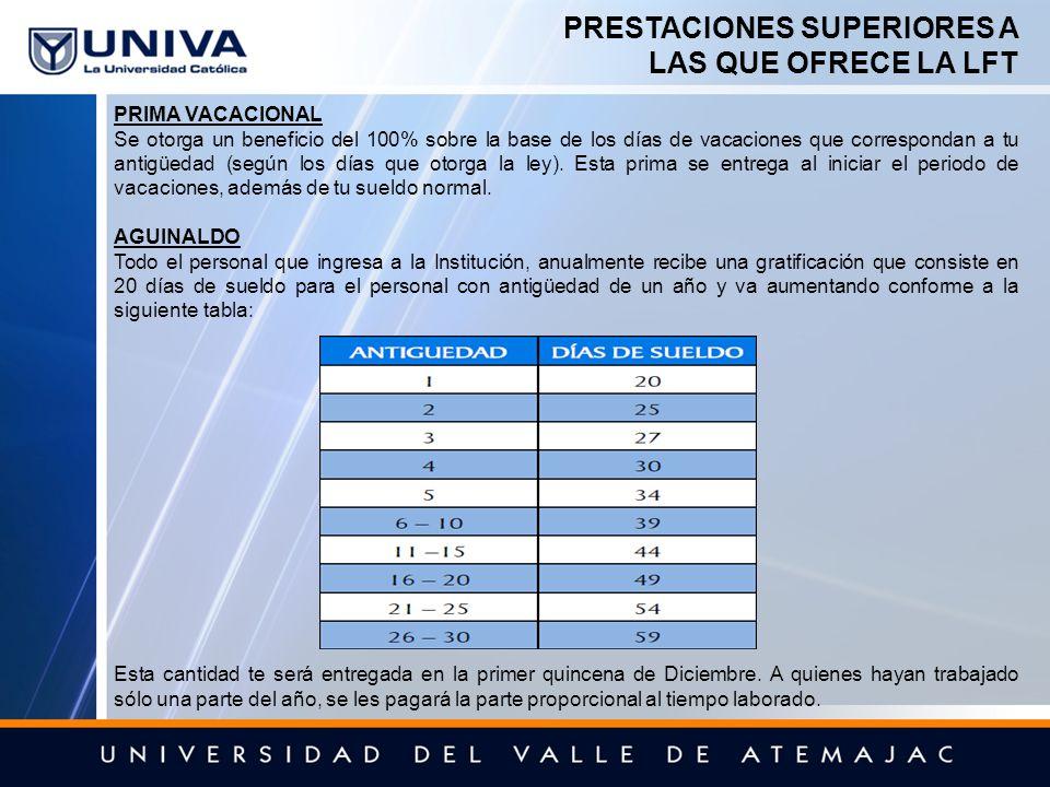 Prestaciones Y Beneficios Univa Ppt Descargar