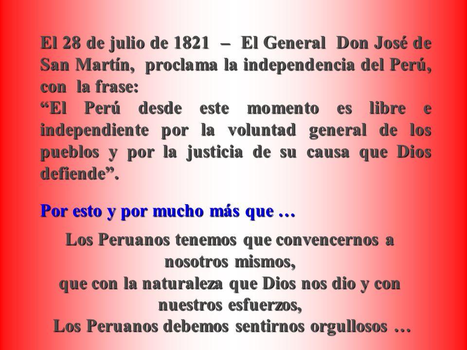 Estas Fiestas Patrias Digamos Con Orgullo Viva El Peru