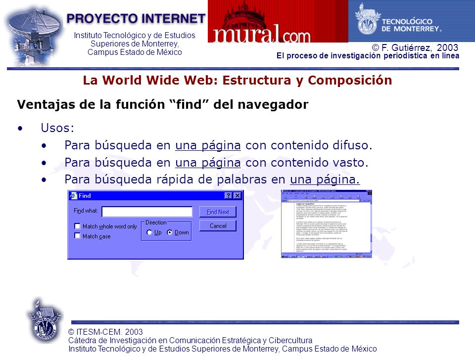 La World Wide Web: Estructura y Composición