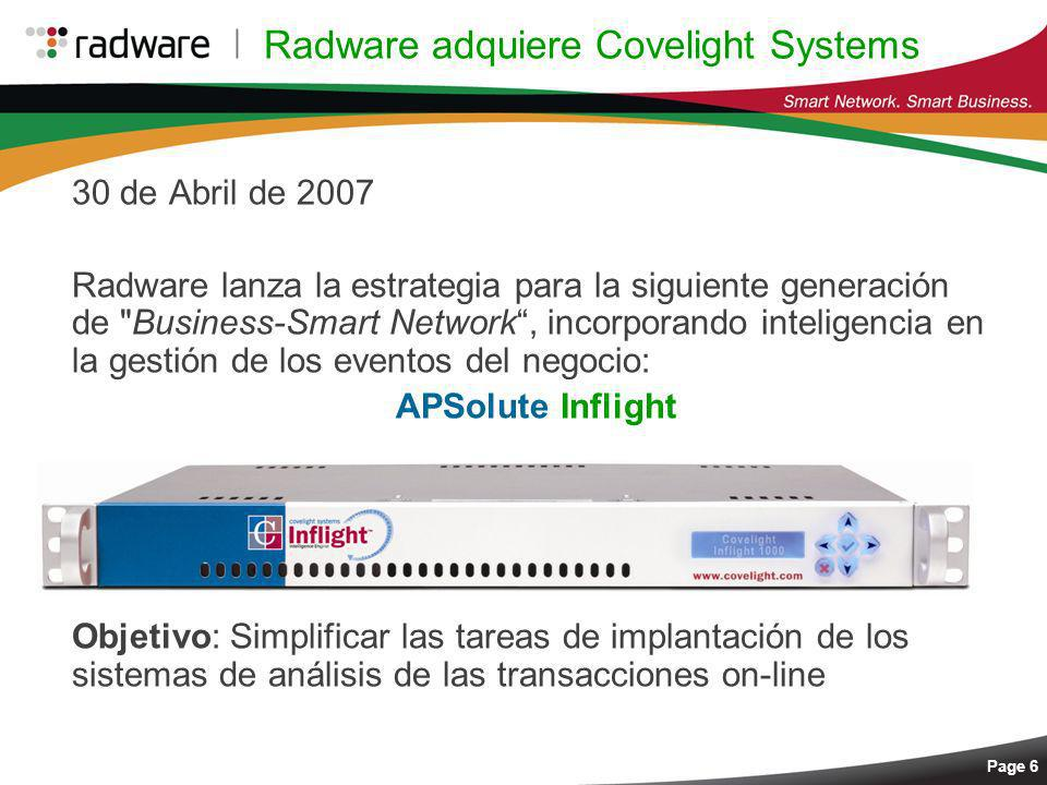 Radware adquiere Covelight Systems
