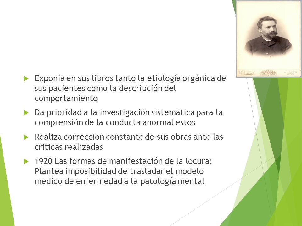ASPECTOS HISTÓRICOS DE LA PSICOPATOLOGÍA - ppt descargar