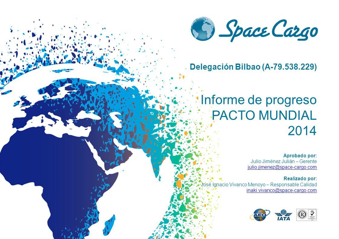 Informe de progreso PACTO MUNDIAL ppt descargar