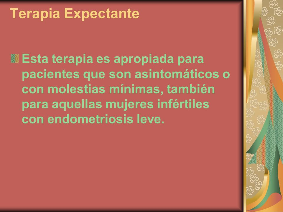 Terapia Expectante