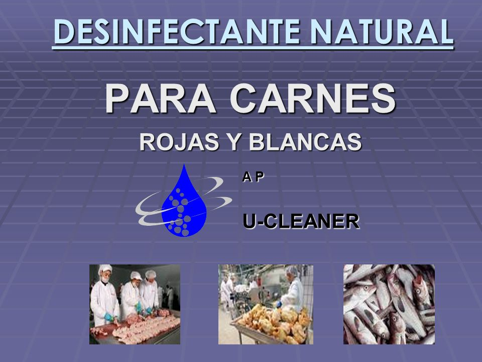 DESINFECTANTE NATURAL