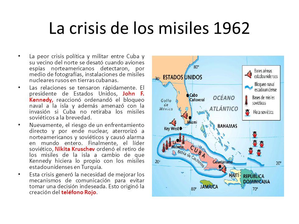 Resultado de imagen para crisis de los misiles