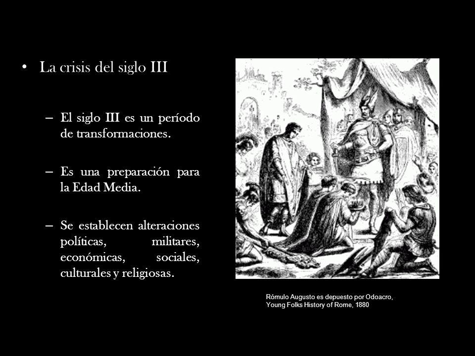 La Crisis Del Siglo Iii En El Imperio Romano Problemas Politicos