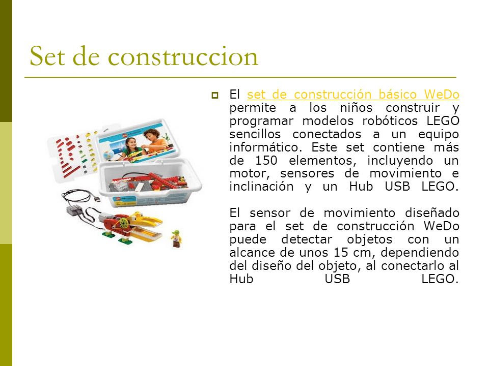 Set de construccion