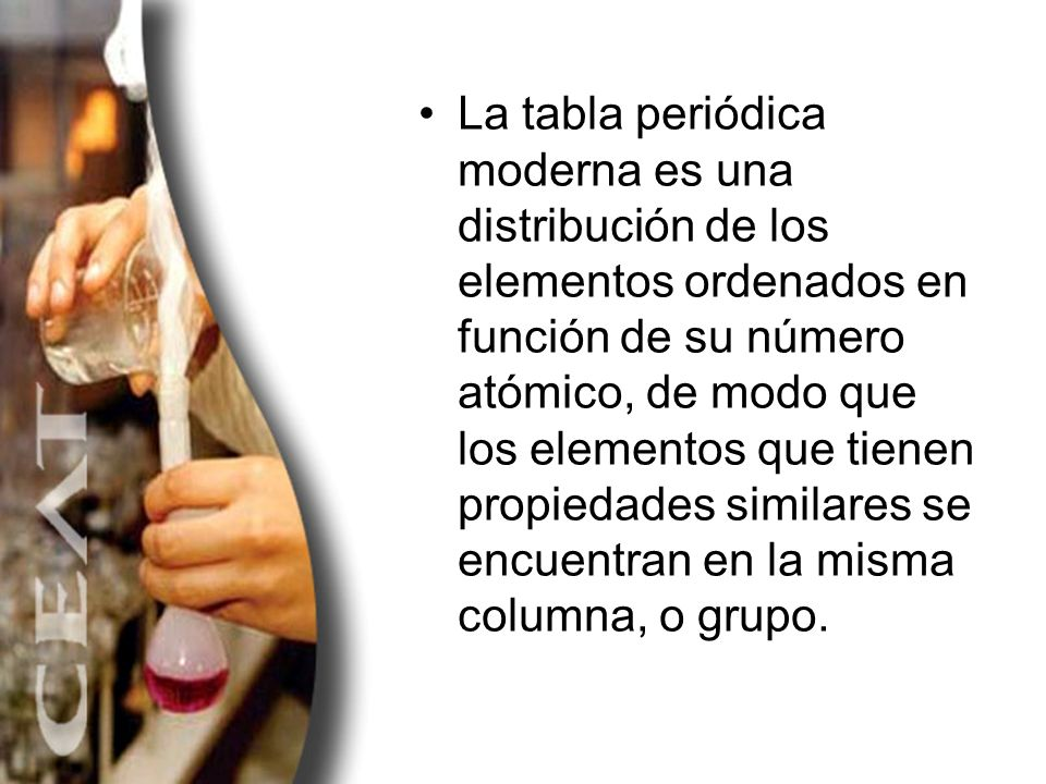 Tabla peridica ppt descargar 9 la tabla peridica moderna urtaz Gallery