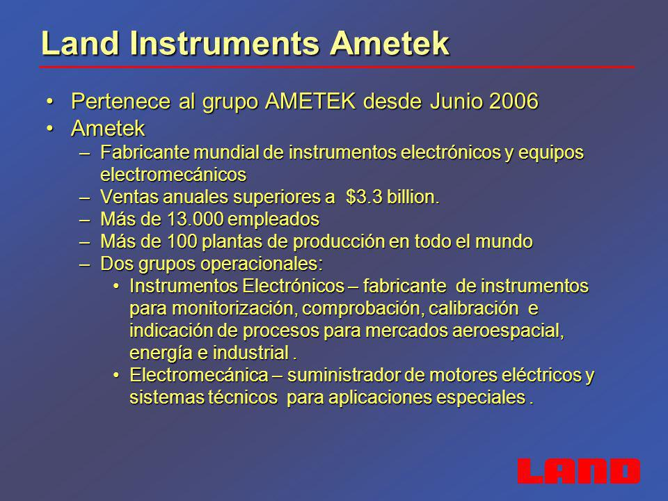 Land Instruments Ametek