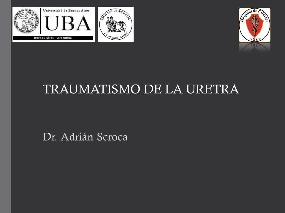 TRAUMATISMO DE LA URETRA - ppt descargar
