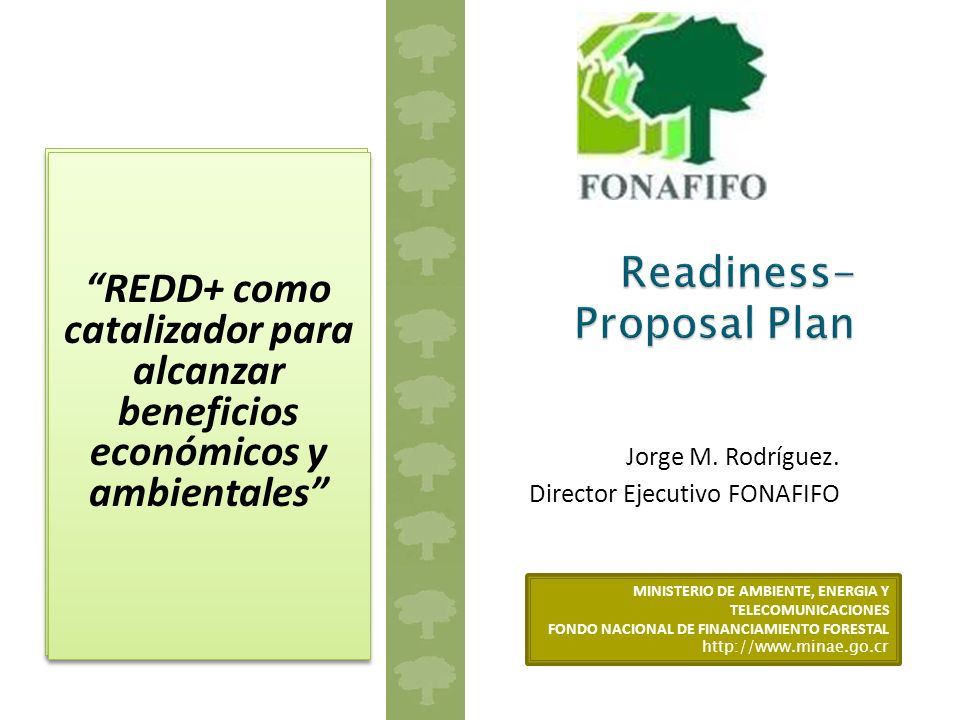 Readiness-Proposal Plan