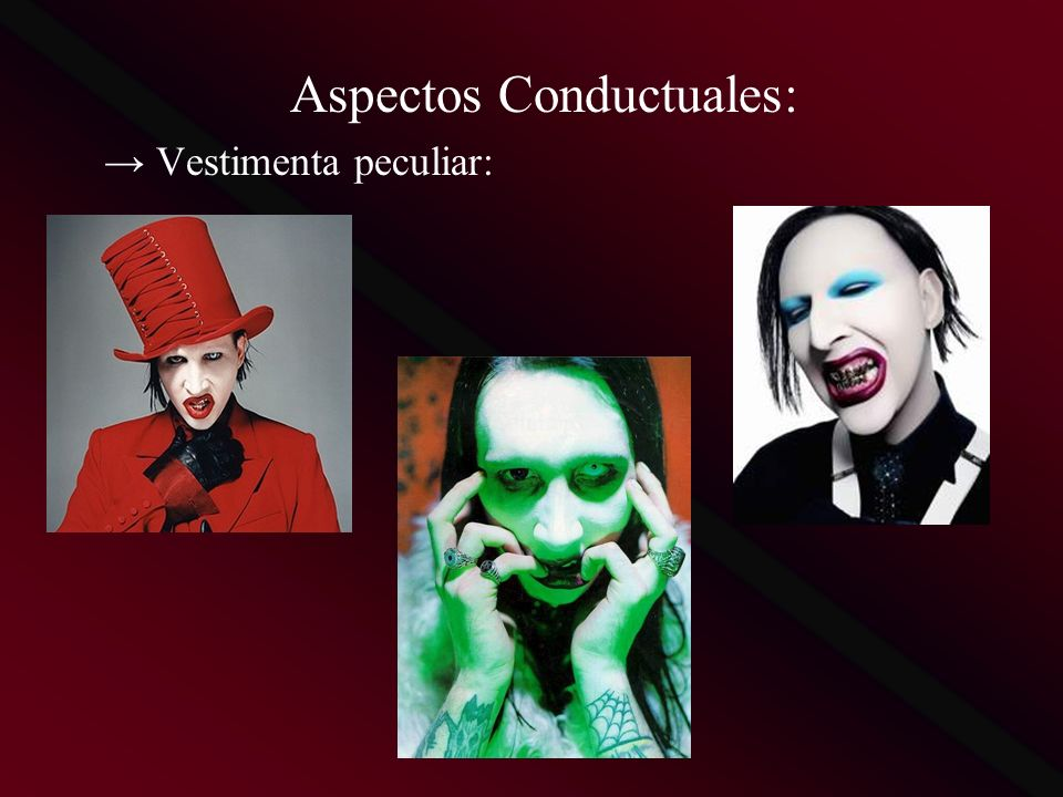 Aspectos Conductuales: