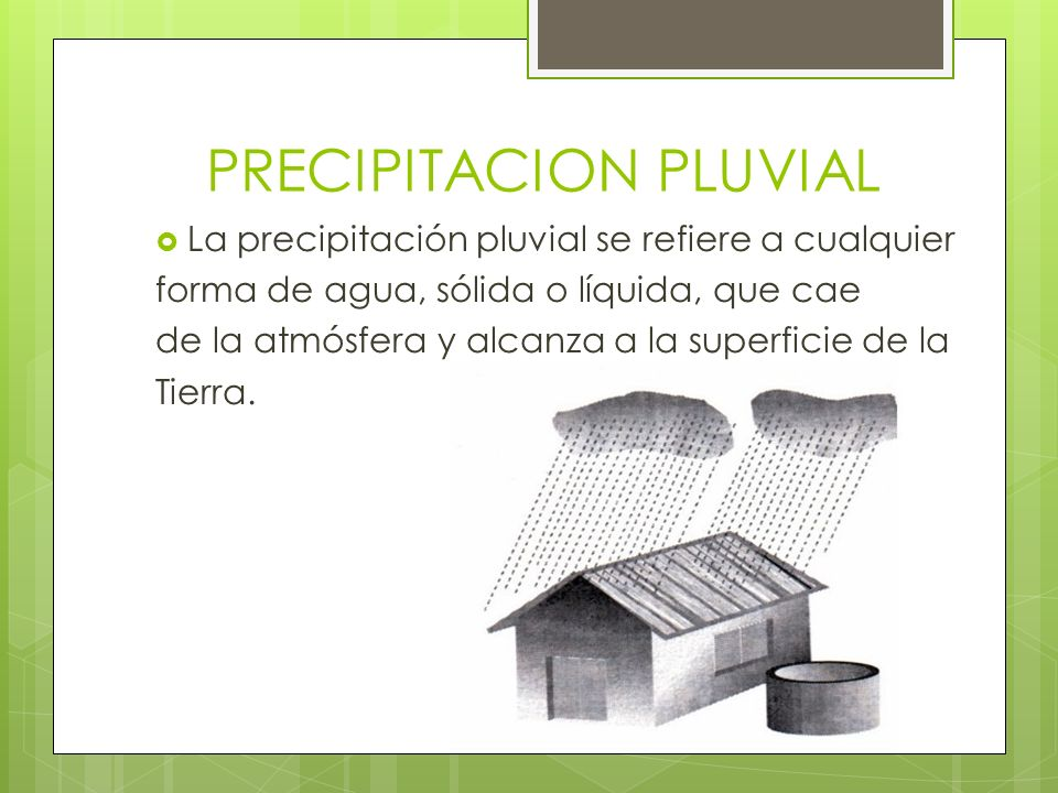 Resultado de imagen para Precipitación Pluvial