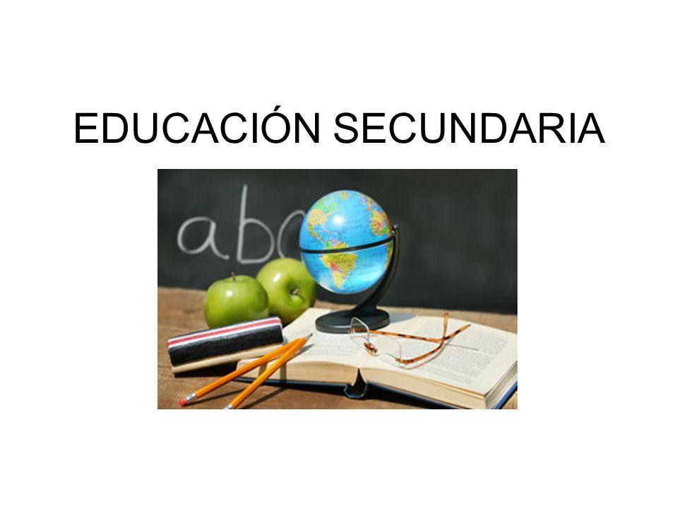 Resultado de imagem para Educación secundaria