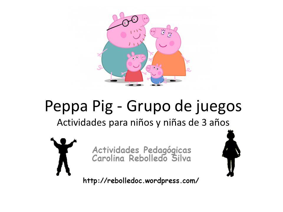 Peppa Pig Grupo De Juegos Actividades Para Ninos Y Ninas De 3 Anos