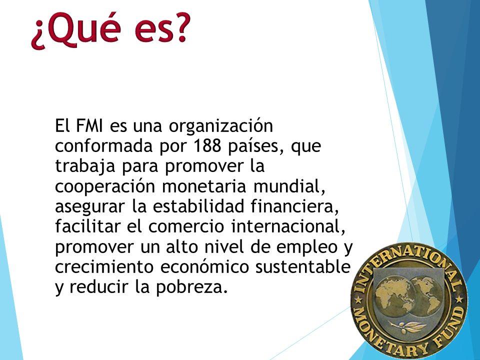 Fondo monetario internacional presentacion