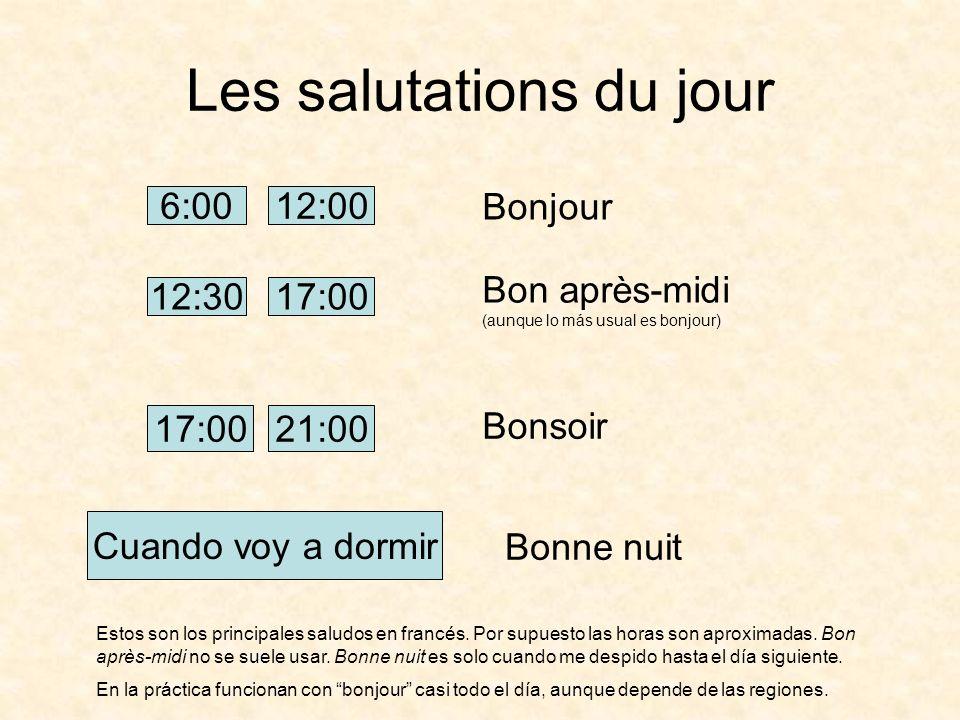 Les Salutations Et La Présentation Ppt Video Online Descargar