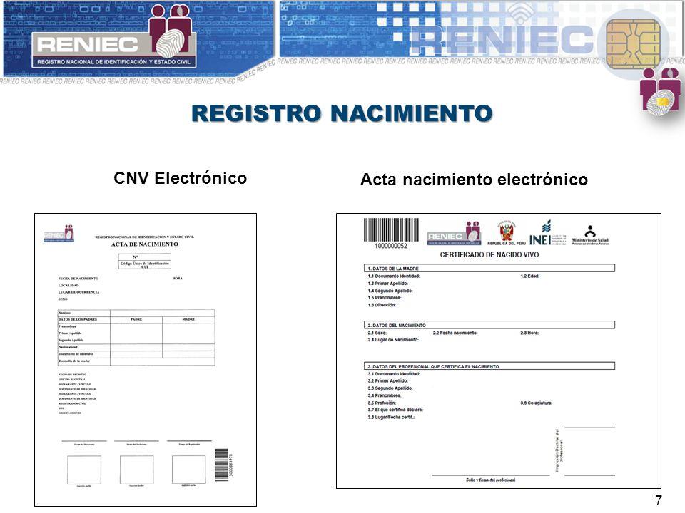 Moderno Certificado De Nacimiento Electrónico Fotos - Cómo conseguir ...