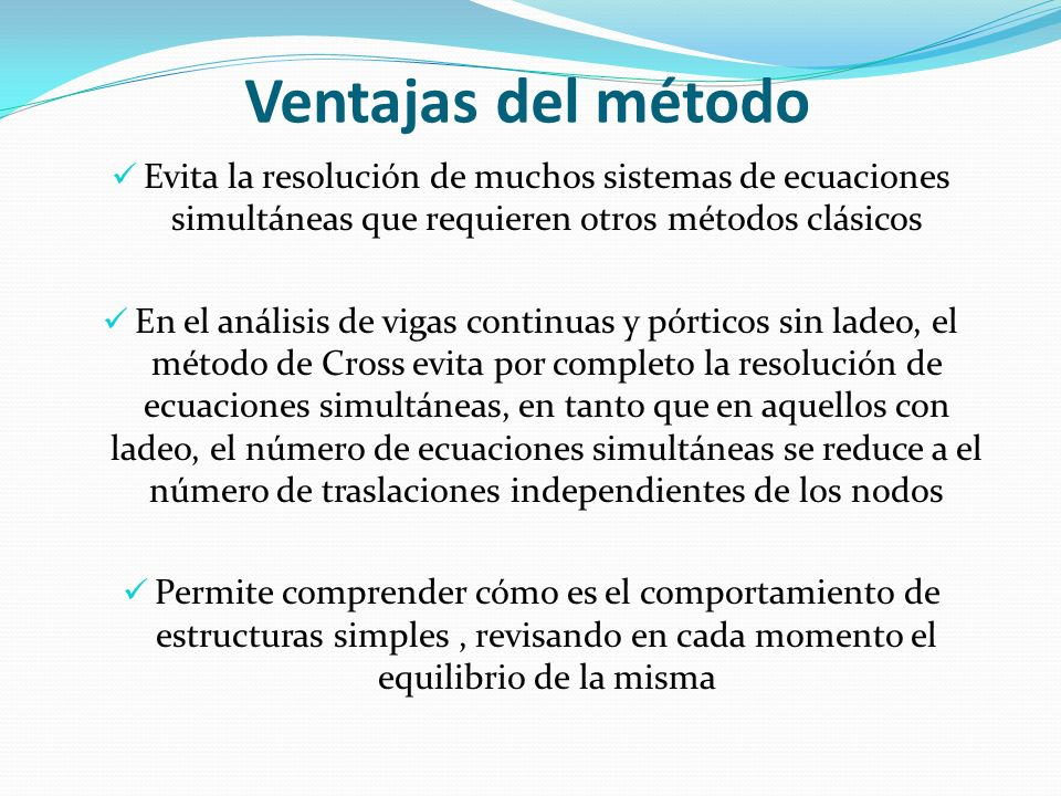 MÉTODOS DE DISTRIBUCIÓN DE MOMENTOS - ppt video online descargar