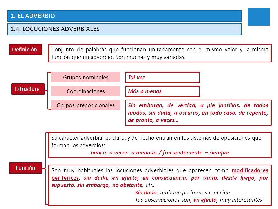 Unidad 5 El Adverbio Y Los Elementos Relacionantes Ppt