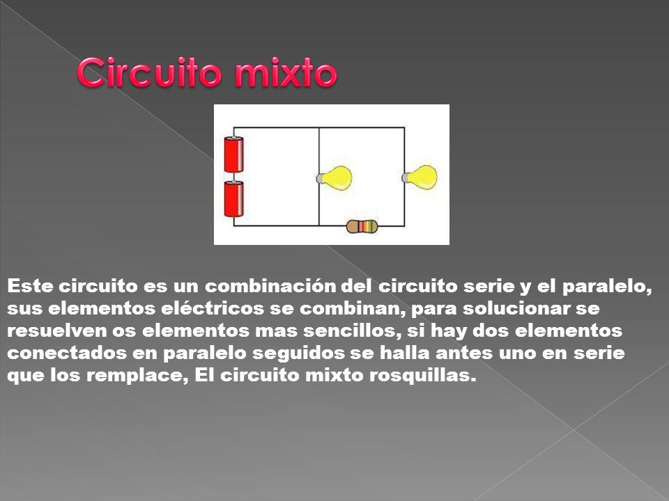 Circuito Serie : Circuito serie un circuito en serie es una configuración de conexión