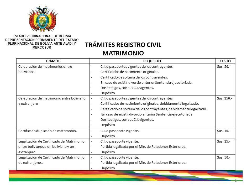 Resultado de imagen de imagenes de Certificado de Estado Civil bolivia