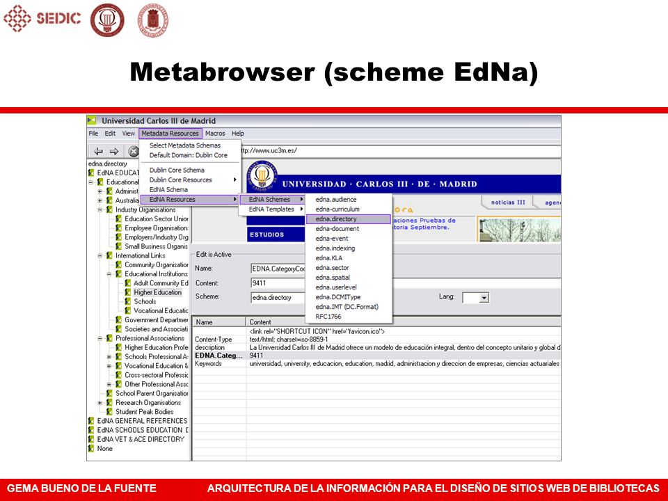 Metabrowser (scheme EdNa)