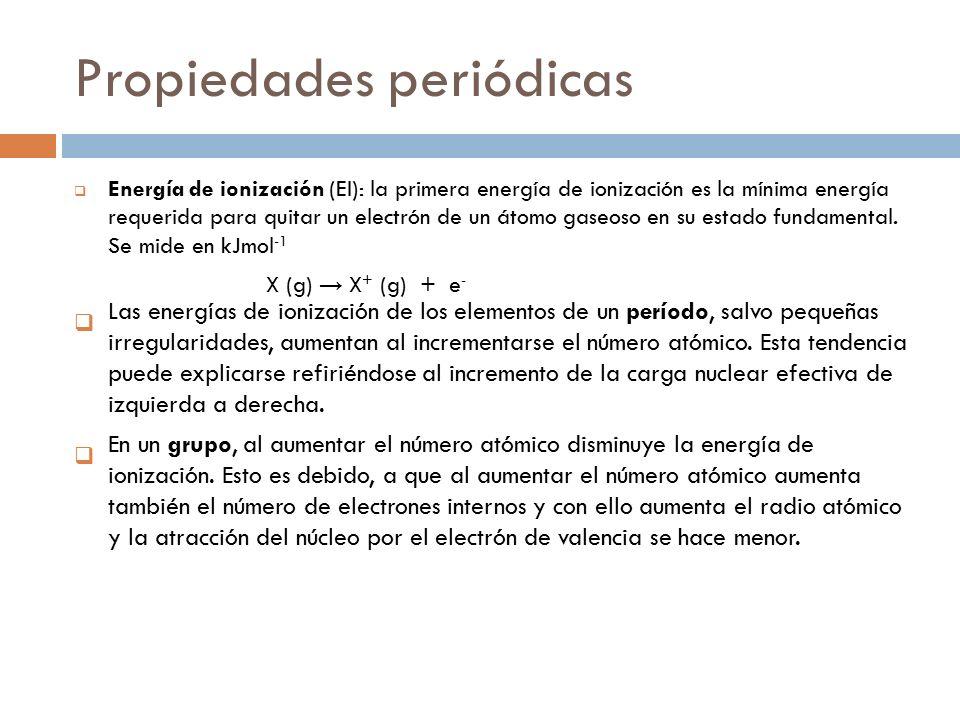 Tema 3periodicidad qumica ib ppt video online descargar propiedades peridicas urtaz Gallery