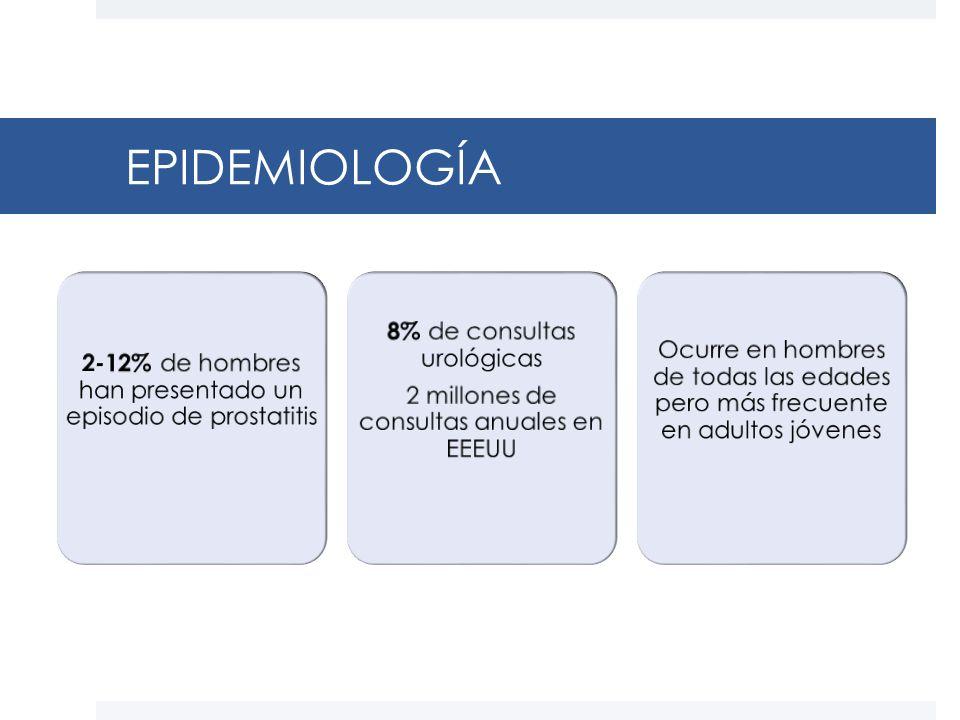 Prostatitis epidemiológia)