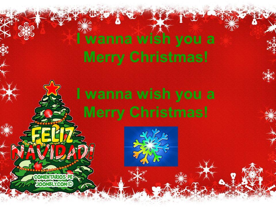 I Wanna Wish You A Merry Christmas.Feliz Navidad By Jose Feliciano