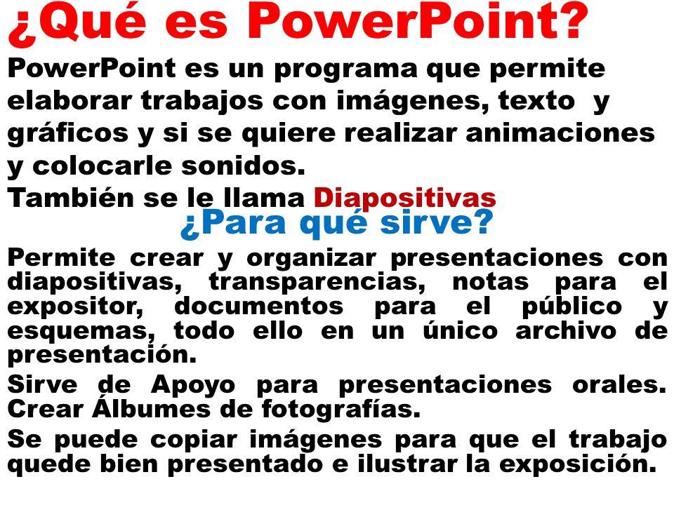 Que es power point