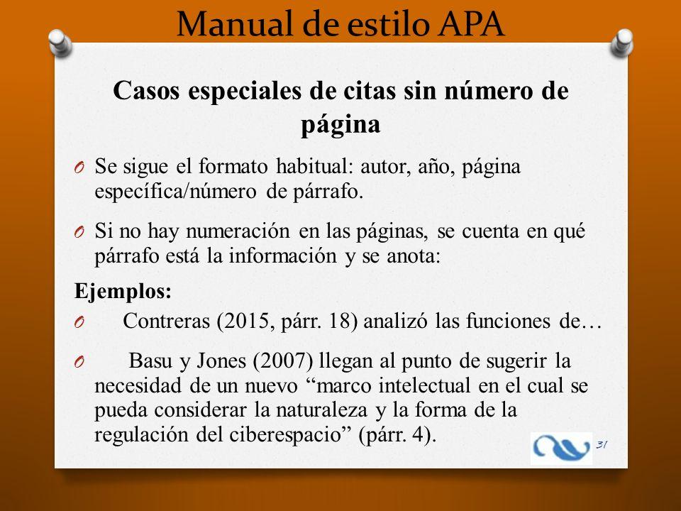 Manual De Estilo Apa Contenido Tema 1 Qué Es Apa Ppt