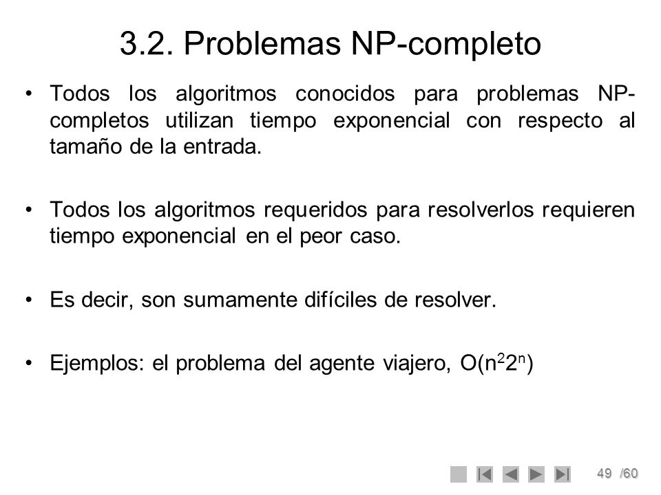 3.2. Problemas NP-completo