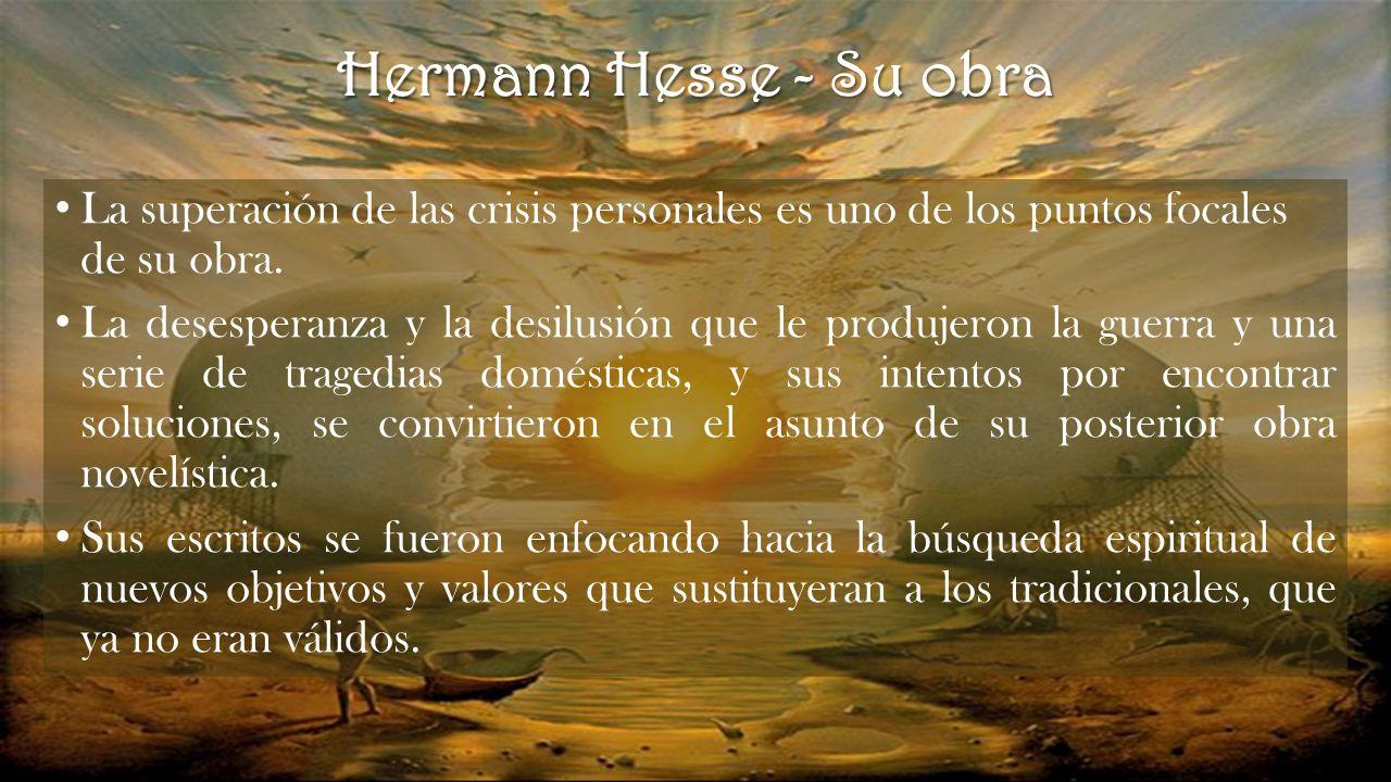 Contextualización Siddhartha 1922 Hermann Hesse Ppt Descargar