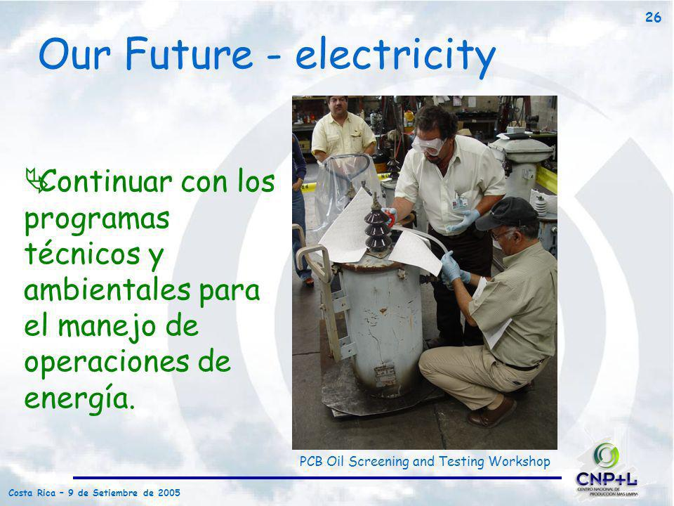 Our Future - electricity