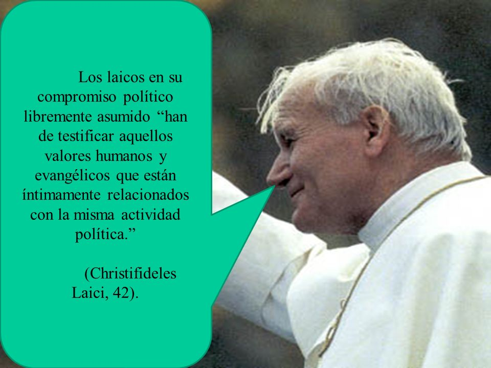 (Christifideles Laici, 42).